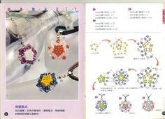 Colgantes Ma, Japonesa Colgantes, Beads Esquemas, Picasa Webbalbum, Chaquira, Pendientes, Abalorios Tutoriales, Bisuteria Creativa, Cristales
