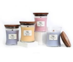 Enter to win a 4 pack of candles featuring WoodWick's NEW Floral fragrances for Spring - Rose, Lilac, and Honeysuckle plus an all time favorite Lavender Spa! One winner for every day this week!