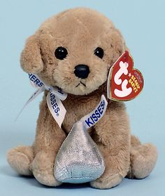Ranger the Beanie Babies dog of animal-cracker-eating, little Todd Fisher in KEY TO LOVE.