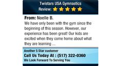 We have only been with the gym since the beginning of this season. However, our...