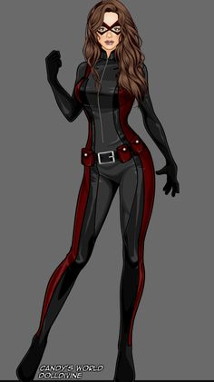 Superhero Costumes Female, Red Superhero, Superhero Suits, Superhero Design, Super Hero Outfits, Super Hero Costumes, Cool Costumes, Dr Marvel, Spy Outfit