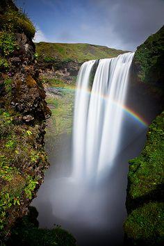 Rainbow Power, East Iceland.