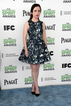 Zoe Lister Jones Actress Zoe Lister Jones attends the 2014 Film Independent Spirit Awards at Santa Monica Beach on March 1, 2014 in Santa Mo...