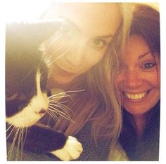 Gemma and Anne (Harry's sister and mom)