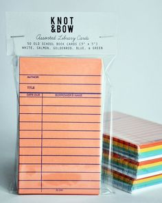 """PLACE CARDS - All I can think about is the """"due date"""" of a book or a baby - shower/announcement idea? Library Themes, Book Themes, Library Books, Library Cards, Kids Library, Dream Library, Book Exchange Party, Book Club Parties, Baby Shower Announcement"""
