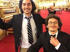 Jonathan et Alexandre au Sénat (Crédit : Alexandre Lumbroso)