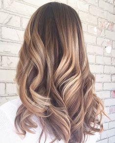 72 Brunette Hair Color Ideas in 2019 Dye My Hair, Hair Highlights, Color Highlights, Light Hair, Cool Hair Color, Brunette Hair, Fall Hair, Balayage Hair, Gorgeous Hair