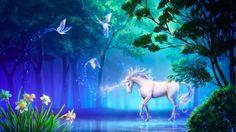 Magic unicorn...