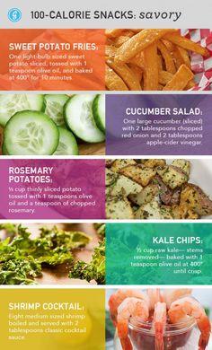 Savory Snacks Under 100 Calories