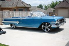 1960 convertible Chevy Impala. Not a Granny car, but would love to have it