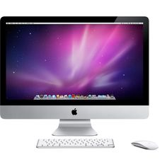Apple - iMac - The ultimate all-in-one desktop computer. ❤ liked on Polyvore featuring electronics, computer, tech, fillers and technology
