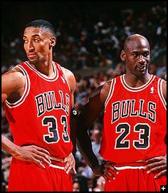 The Duo--Scottie Pippen And Michael Jordan