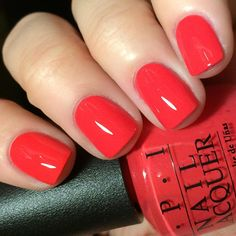 """2,708 Likes, 49 Comments - Nicole Young Wild and Polished (@youngwildandpolished) on Instagram: """"OPI She's a Bad Muffuletta (love the name) from the New Orleans line for Spring 2016. I told you…"""""""