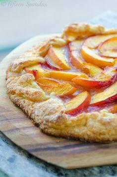 Fresh Peach Crostata Recipe
