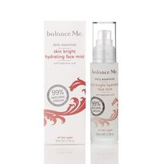 Skin Bright Hydrating Face Mist by Balance Me