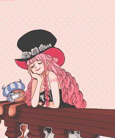Shipwrecked. Castaway. Lost at sea. One Piece - Perona
