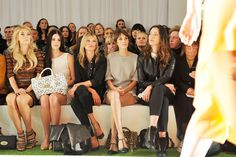 Wow!! Would have loved to sit front row at this show next to three of my top style inspirations: Lana, Kate and Alexa