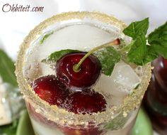 Bourbon Cherry Mojito ~ ohbiteit.com