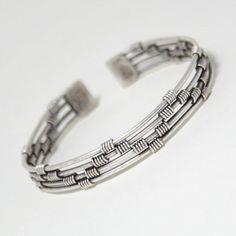 Items similar to Men Silver Bracelets - Men Bracelet - Men Cuff Bracelet - Men Jewelry - Men Gift - Boyfriend Gift - Husband Gift - Dad's Gift - Male Jewelry on Etsy Silver Man, Silver Cuff, Silver Bracelets, Bracelets For Men, Handmade Bracelets, Bracelet Men, Wire Bracelets, Handmade Jewelry, Silver Rings