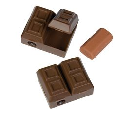 Chocolate Bar Sharpener with Scented Eraser