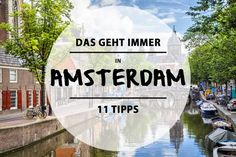 Amsterdam has the most beautiful canals, bridges and houseboats in the world. Of… - Travel Ideas 2019 Visit Amsterdam, Amsterdam City, Amsterdam Travel, Amsterdam Netherlands, Travel To Do, Places To Travel, Places To Go, Hostels, Europe Destinations