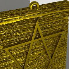 Custom Made gold pendant from Nisgav Diamonds