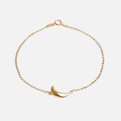 Bennt - Little Moon Bracelet Moon, Sterling Silver, Stylish, Bracelets, Beautiful, Jewelry, The Moon, Bangle Bracelets, Jewellery Making