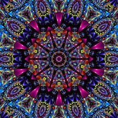 Color Me Vivid Kaleidoscope by ~TastesLikePurple