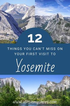 Yosemite National Park is one of the most beautiful places in California, and should be on everybody's bucket lists!  Planning an itinerary for your family vacation can be a challenge though, that is why I'm sharing this list of 12 things to do in Yosemite.  Whether you are hiking with kids, camping with families, or are on a solo photography adventure this list will give you the tips you need to do the best hikes and make the most of your road trip! Don't miss #6! Go Camping, Yosemite Camping, Beautiful Places In California, Hiking With Kids, California National Parks, Go Outdoors, Best Hikes, Amazing Adventures, Yosemite National Park