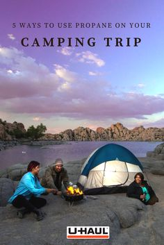 No matter what your camping style, there are propane-fueled products that you should know about before you head to the campgrounds. Find out 5 ways to use propane on your next camping trip. Camping In The Rain, Utah Camping, Camping Snacks, Camping Style, Camping Spots, Camping World, Tent Camping, Outdoor Camping, Outdoor Gear