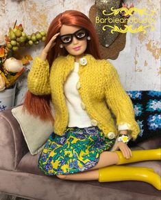 Barbie Skipper, Barbie Dolls, Barbie Clothes, Barbie Stuff, Ooak Dolls, Fashion Dolls, Collection, Clothing, Projects