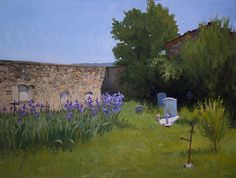 Marc Dalessio - Cemetry at La Pieve, Tuscany