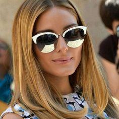 O que acha do #look de hoje ter inspiração na linda #oliviapalermo ? Vem buscar o seu #Dior  nas #oticaswanny  #diorun #oculosespelhado #inspiration