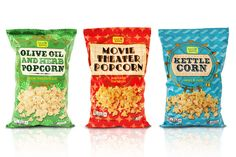 Fresh & Easy Popcorn Range Redesigned on Packaging of the World - Creative Package Design Gallery