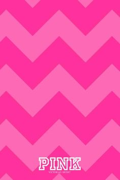 VS PINK chevron iPhone wallpaper