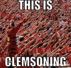 Real Clemsoning! Go Tigers!
