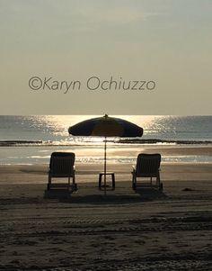 Early morning on Daytona Beach