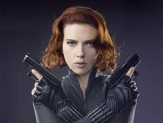 Immagine di black widow and Scarlett Johansson