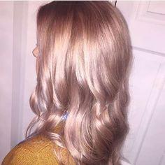 professional rose gold ash blonde hair - Google Search …
