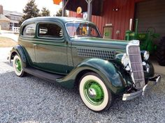 1935 Ford Deluxe Tudor Sedan. Also visit www.ghilliesuitshop.com for your travel or outdoor needs.