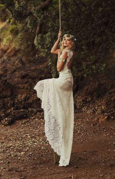 Daisy, Rue de Seine. Boho wedding dresses #boho #wedding #dress