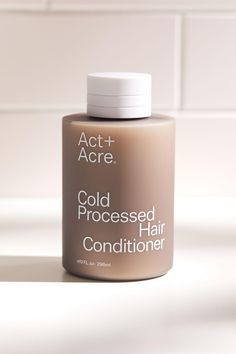 Act+Acre Cold Processed Hair Conditioner Packaging Box, Skincare Packaging, Beauty Packaging, Cosmetic Packaging, Brand Packaging, Recyclable Packaging, Luxury Packaging, Retail Packaging, Perfume Parfum
