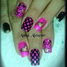 valentine #nail #nails #nailart