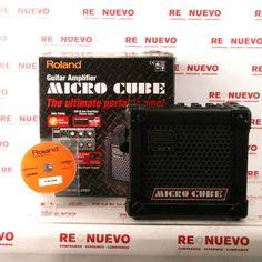 Amplificador ROLAND MICRO CUBE de segunda mano E280222 | Tienda online de segunda mano en Barcelona Re-Nuevo