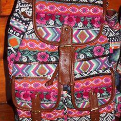 Adorable tribal backpack