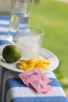 Mango and Lime Caipirosca made with Sweet'N Low®