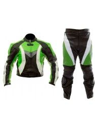Moto Sports Men's Racing Motorcycle Leather Suit