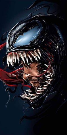 New venom wallpaper marvel ideas Venom Comics, Marvel Venom, Marvel Art, Marvel Dc Comics, Marvel Heroes, Venom Film, Venom Movie, Black Panther Art, Black Panther Marvel
