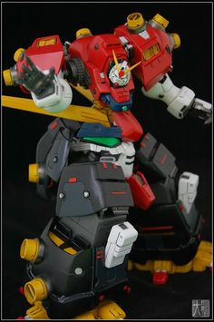 1:144 Devil Gundam custom build