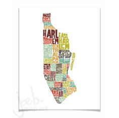 Hey, I found this really awesome Etsy listing at http://www.etsy.com/listing/150119143/manhattan-ny-typography-map-art